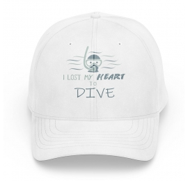 Cap Scuba Diving Gift Ideas - Gift ideas Lost my heart to dive