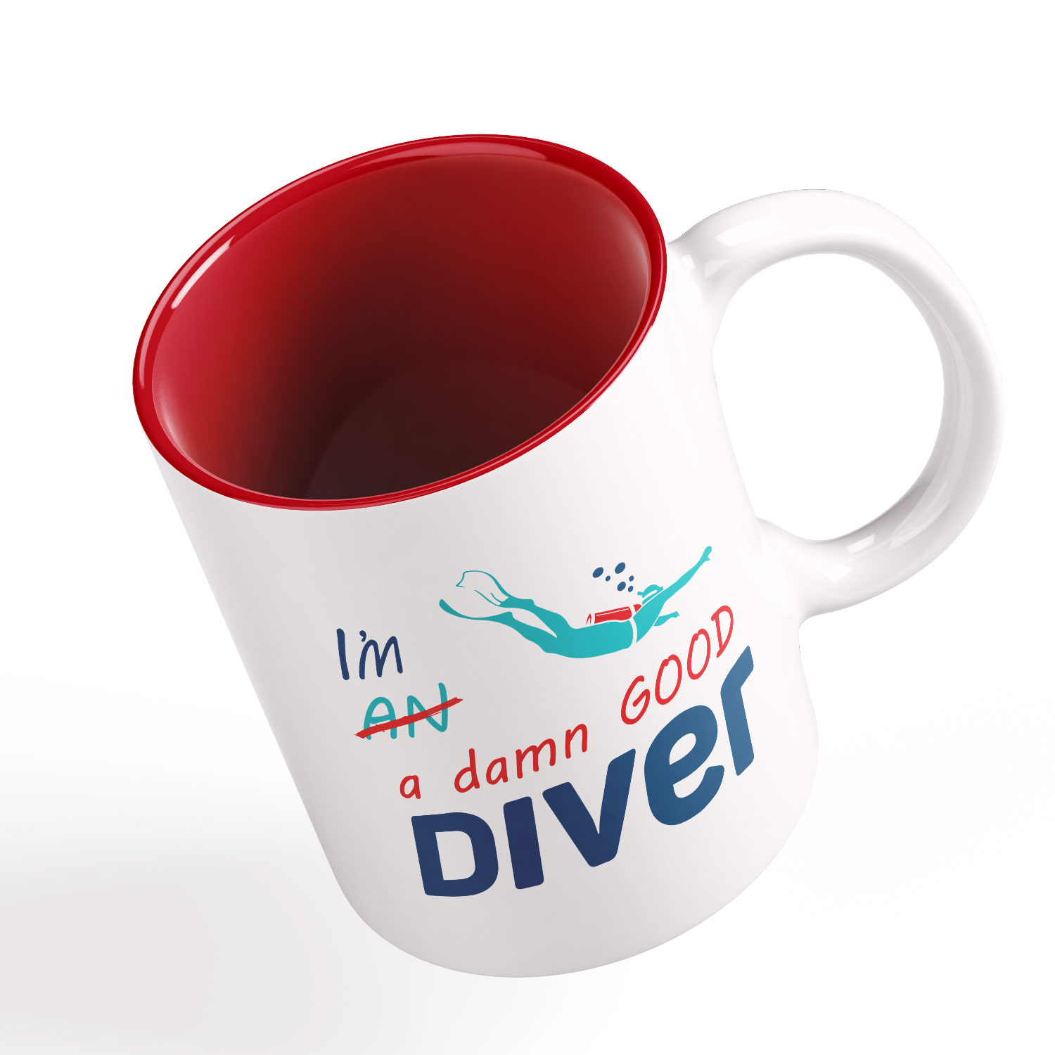 Personalized Funny Mugs Gift For Scuba Divers