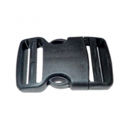 BCD Single 40mm Curved Side Release Buckle