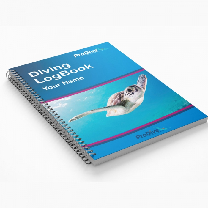 Personalized Dive Log Book Customize your Name