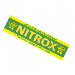 Nitrox Only Band Warning Sticker TDI