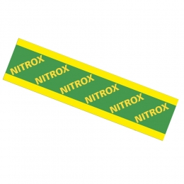 Nitrox Only Band Warning Sticker